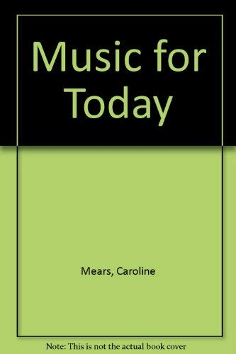 9780195700824: Music for Today
