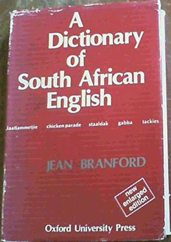 9780195701777: A Dictionary of South African English