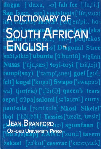 9780195704273: Dictionary of South African English: Revised and Enlarged