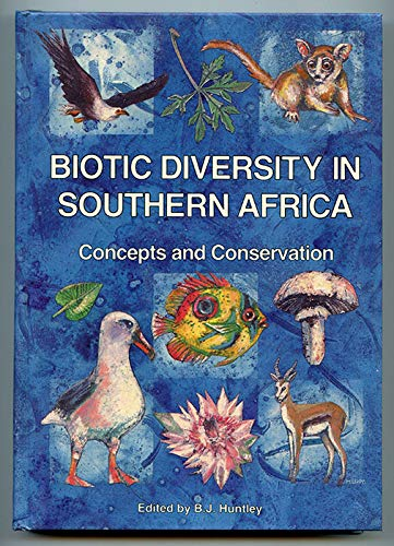 9780195705492: Biotic Diversity of Southern Africa: Concepts and Conservation
