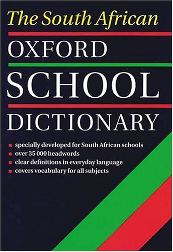 9780195714142: The South African Oxford School Dictionary