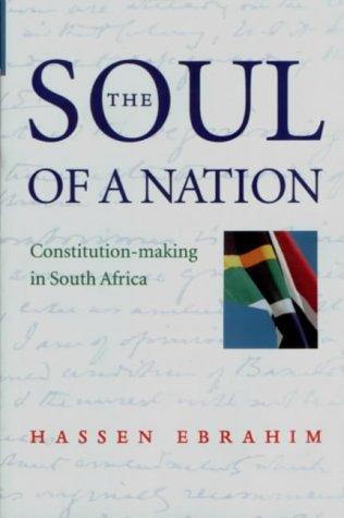 9780195715057: The Soul of a Nation: Constitution-making in South Africa