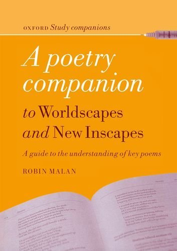 9780195716108: A poetry companion to worldscapes and new inscapes: A guide to the understanding of key poems