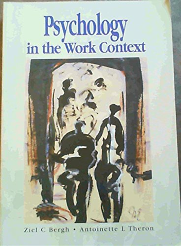 9780195718454: Psychology in the Work Context