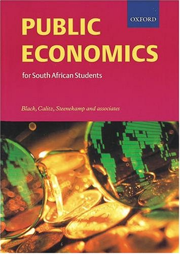9780195718614: Public Economics for South African Students