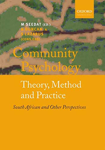 9780195719222: Community Psychology: Theory, Method and Practice, South African and Other Perspectives
