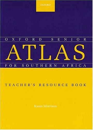 9780195719956: The Senior Oxford School Atlas for Southern Africa: Teacher's Book