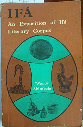 9780195751994: Ifa: An Exposition of Ifa Literary Corpus