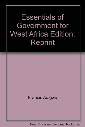9780195752434: Essentials of Government for West Africa