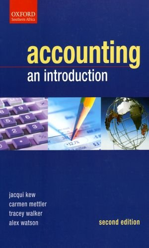 Accounting An Introduction: Editor-Alex Watson; Editor-Jacqui