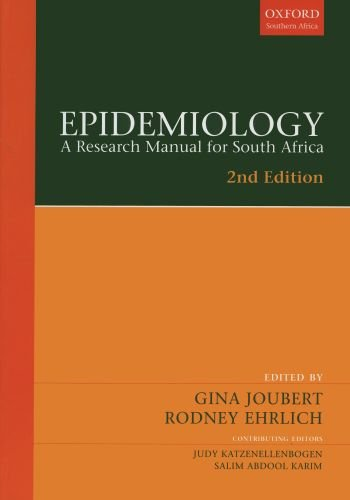 9780195762778: Epidemiology: A research manual for South Africa