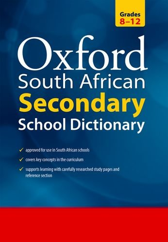 South African Oxford Secondary School Dictionary (0195765265) by Oxford University Press