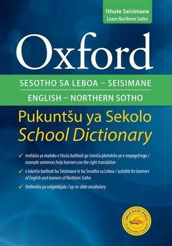 9780195765557: Oxford Bilingual School Dictionary: Northern Sotho and English