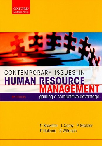 9780195768046: Contemporary Issues in Human Resource Management: Gaining a Competitive Advantage (Oxford Southern Africa)