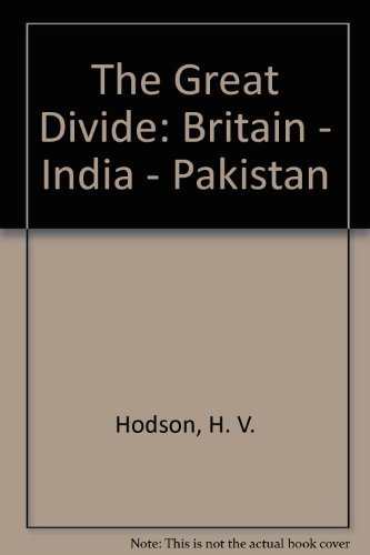 9780195773408: The Great Divide: Britain--India--Pakistan