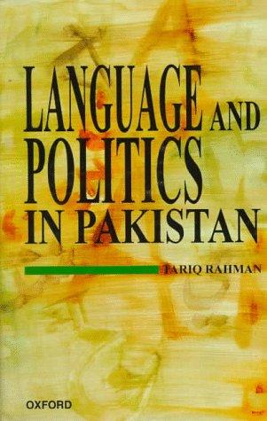 9780195776928: Language and Politics in Pakistan