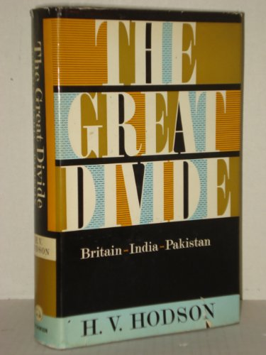 9780195778212: Great Divide; Britain, India, Pakistan