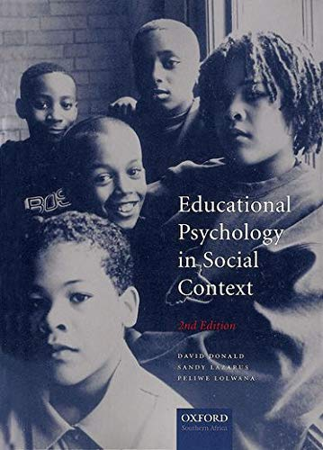 9780195780512: Educational Psychology in Social Context