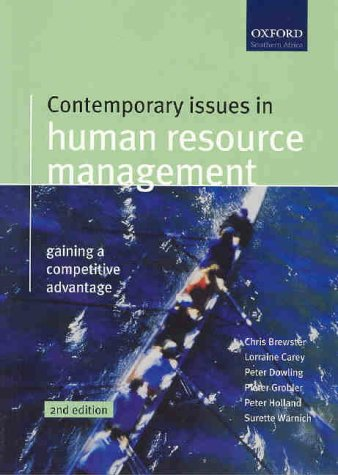 Contemporary Issues in Human Resources Management: Chris Brewster, Peter