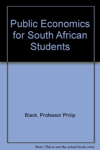 9780195784428: Public Economics for South African Students