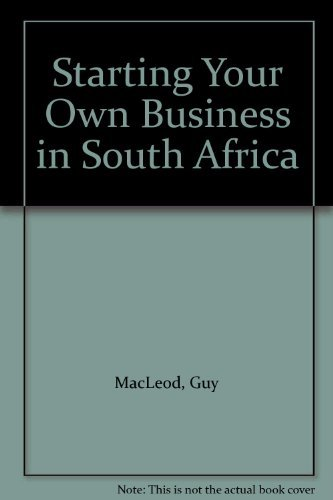 9780195784848: Starting Your Own Business in South Africa