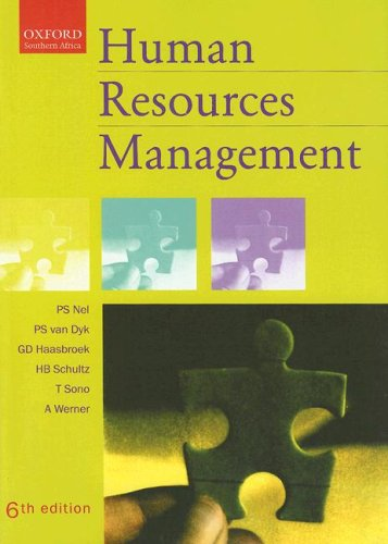 9780195786804: Human Resources Management (Oxford Southern Africa)