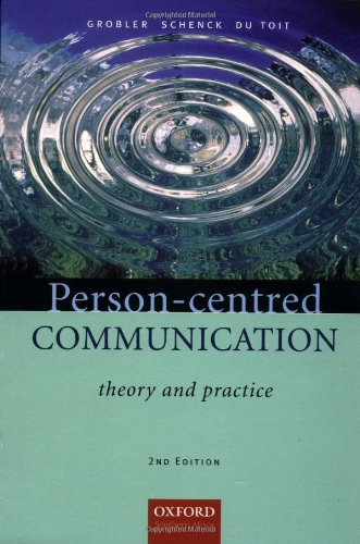 9780195786873: Person-centred Communication: Theory and Practice