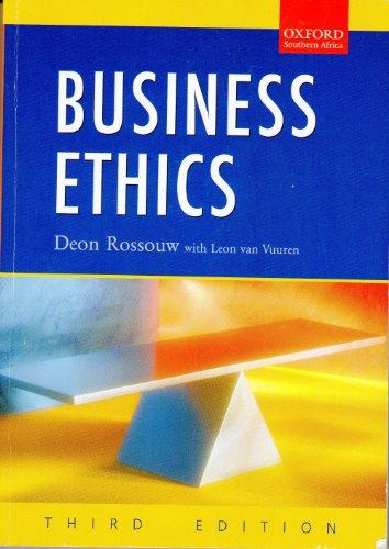 9780195788495: Business Ethics