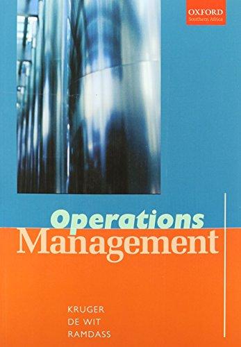 9780195789034: Operations Management