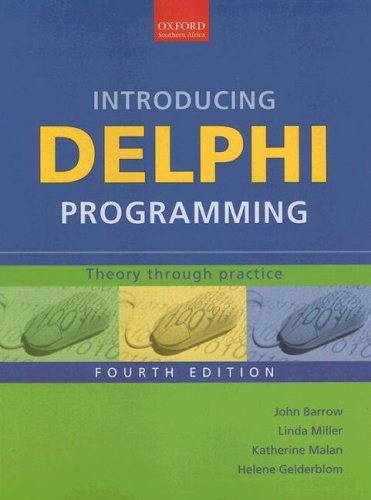 9780195789119: Introducing Delphi Programming: Theory through Practice