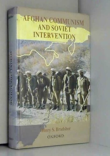 9780195790177: Afghan Communism and Soviet Intervention