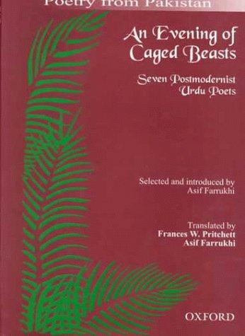 9780195790207: An Evening of Caged Beasts: Seven Postmodernist Urdu Poets