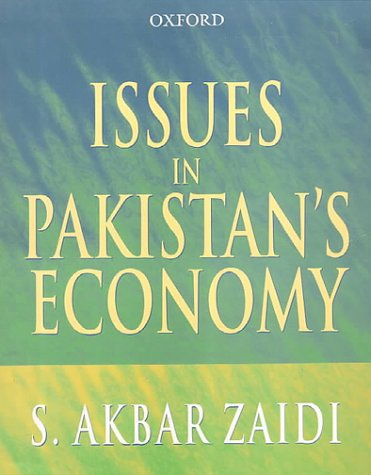 Book Issues In Pakistan Economy By Akbar Zaidi