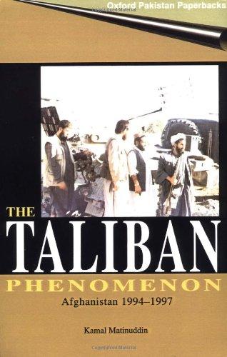 9780195792744: The Taliban Phenomenon: Afghanistan 1994-1997