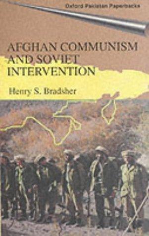 9780195795066: Afghan Communism and Soviet Intervention (Oxford Pakistan Paperbacks)