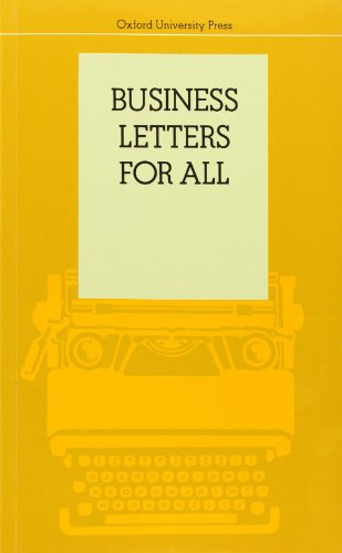 9780195802320: Business Letters for All