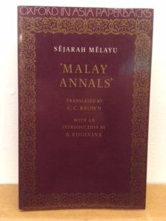 Sejarah Melayu, Or Malay Annals