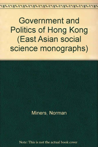 9780195803716: Government and Politics of Hong Kong