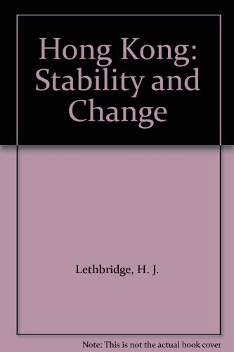 9780195804027: Hong Kong: Stability and Change