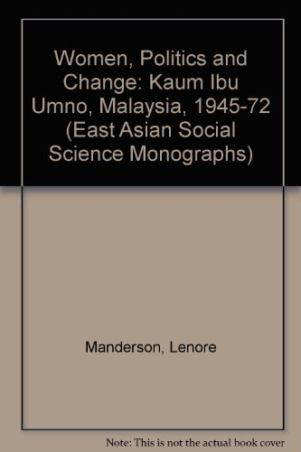 Women Politics and Change: The Kaun Ibu: Manderson, Lenore
