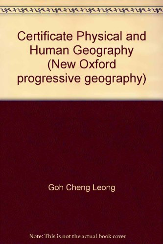 Certificate Physical and Human Geography: Leong, Goh Cheng