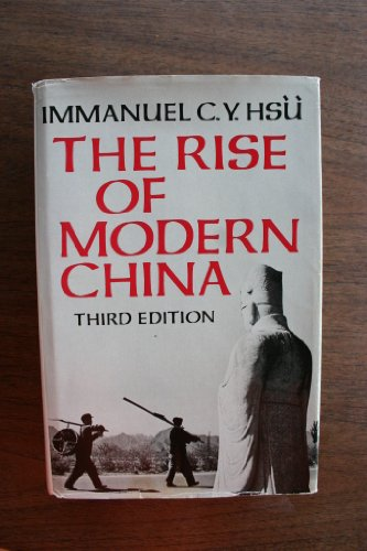 9780195813609: The Rise of Modern China
