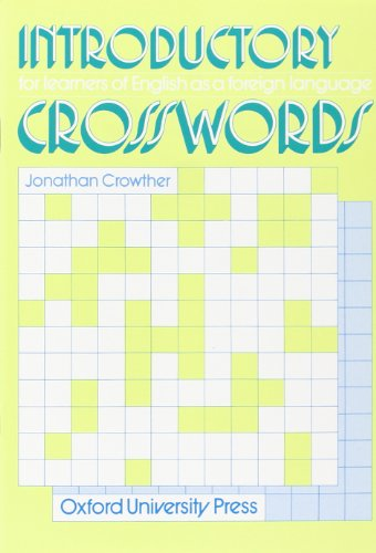 9780195817492: Crosswords Introductory