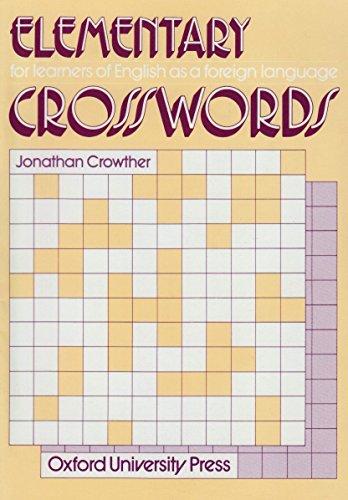 9780195817508: Elementary Crosswords