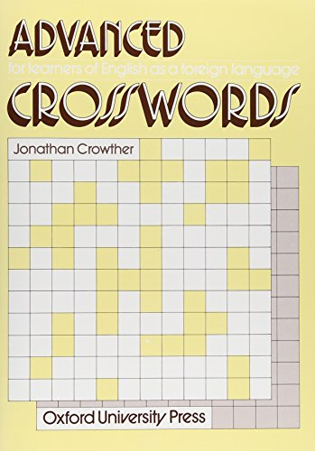 9780195817522: Crosswords for Learners of English Advanced