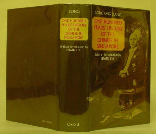 9780195826036: One Hundred Years' History of the Chinese in Singapore (Oxford in Asia Hardback Reprints)