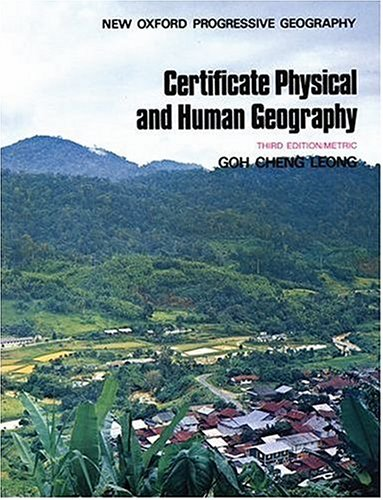 9780195828610: The New Oxford Progressive Geography: Certificate Physical and Human Geography