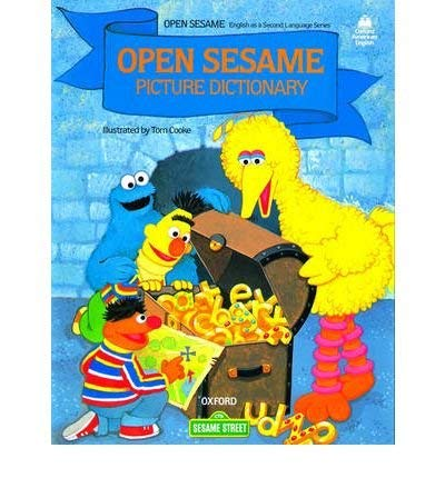 9780195837445: Open Sesame Picture Dictionary