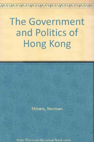 9780195840629: The Government and Politics of Hong Kong