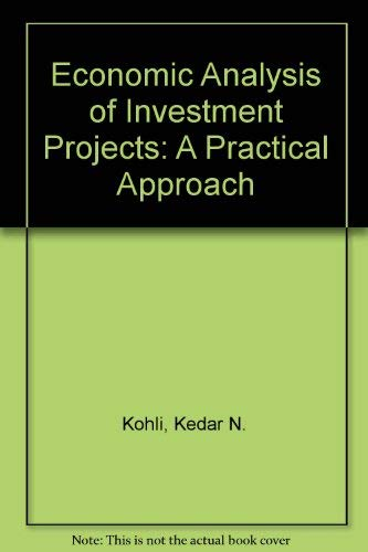 9780195859362: Economic Analysis of Investment Projects: A Practical Approach